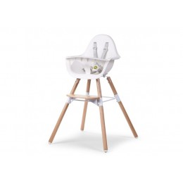 EVOLU 2 Стул Childhome Natural / White 2 в 1