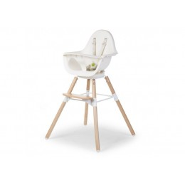 EVOLU ONE.80° Стул Childhome Naturel / White 2 in 1