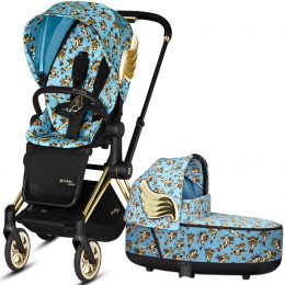 Cybex Priam Lux 2 в 1 Jeremy Scott Cherubs Blue