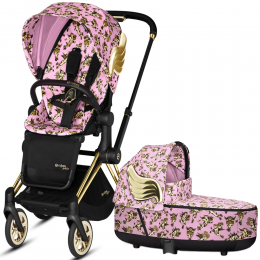 Cybex Priam Lux 2 в 1 Jeremy Scott Cherubs Pink