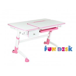 Детский стол-трансформер FunDesk Amare with drawer Pink