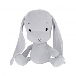 Bunny Effik S - Grey , Gray ears 20 cm