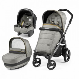 Коляска Peg-Perego Book Elite 3 в 1 Luxe Grey