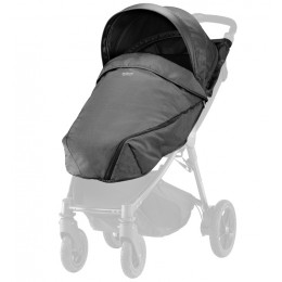 Козырек BRITAX B-AGILE/B-MOTION Black Denim + накидка